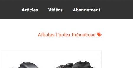 index thematique photographique