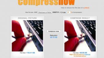 compressnow compression des images