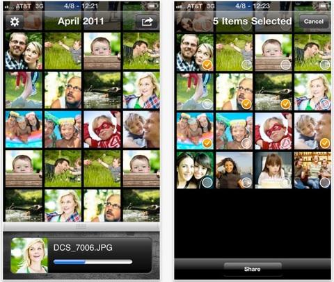 eye-fi mobi images vers smartphones