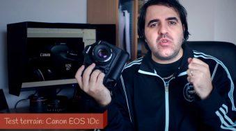Test terrain Canon EOS-1D C