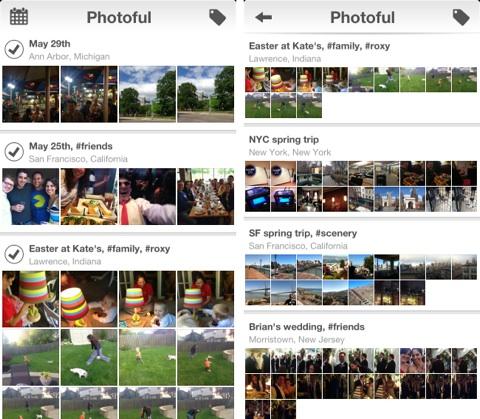 test app photographie photoful iphone