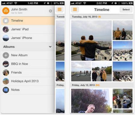 loom alternative flux de photos apple