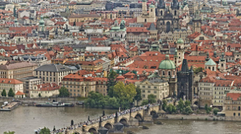 photo panoramique prague