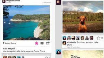 app Flickr permet envoi automatique des photos et offre 1 To de stockage