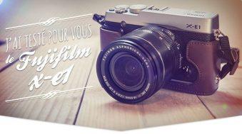 Test Fujifilm X-E1 avec son 18-55 mm