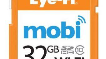 Eye-Fi Mobi : nouvelle carte SD Wifi