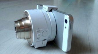 Test Sony QX10, l'étonnant objectif connecté iPhone
