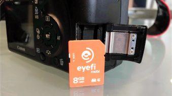 test eye-fi carte sd wi-fi